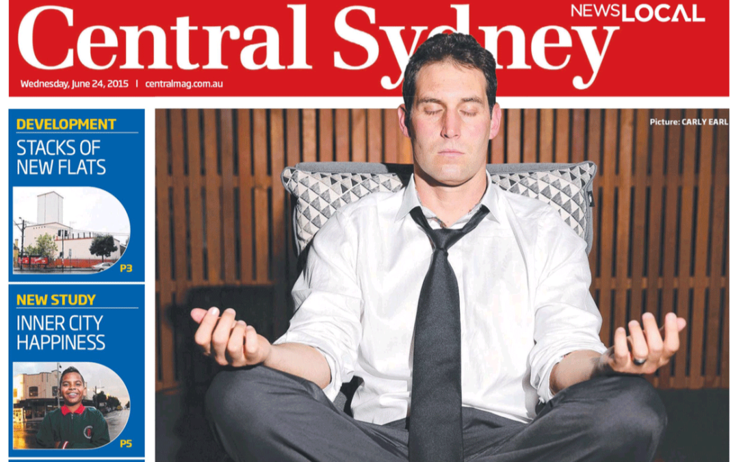 Front Cover of Central Sydney Magazine