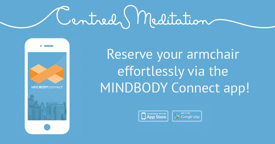 Reserve Your Armchair via the App