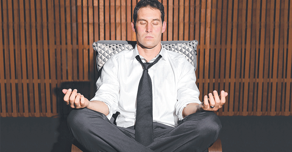 Meditate to #getcentred