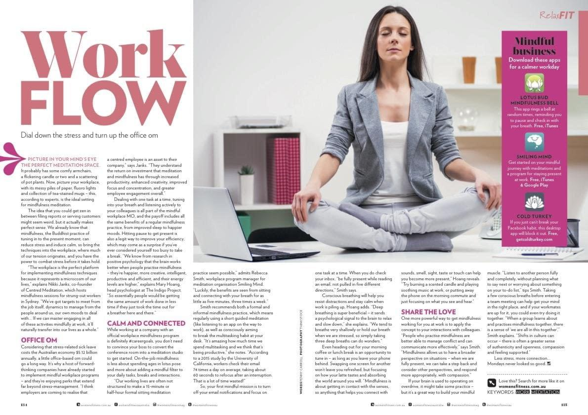 how to meditate in office. Work Flow: Dial Down The Stress And Turn Up Office Om How To Meditate In H