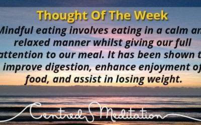 Mindful Eating is not a New Fad