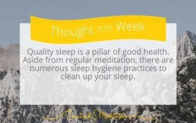 Clean Up your Sleep Habits