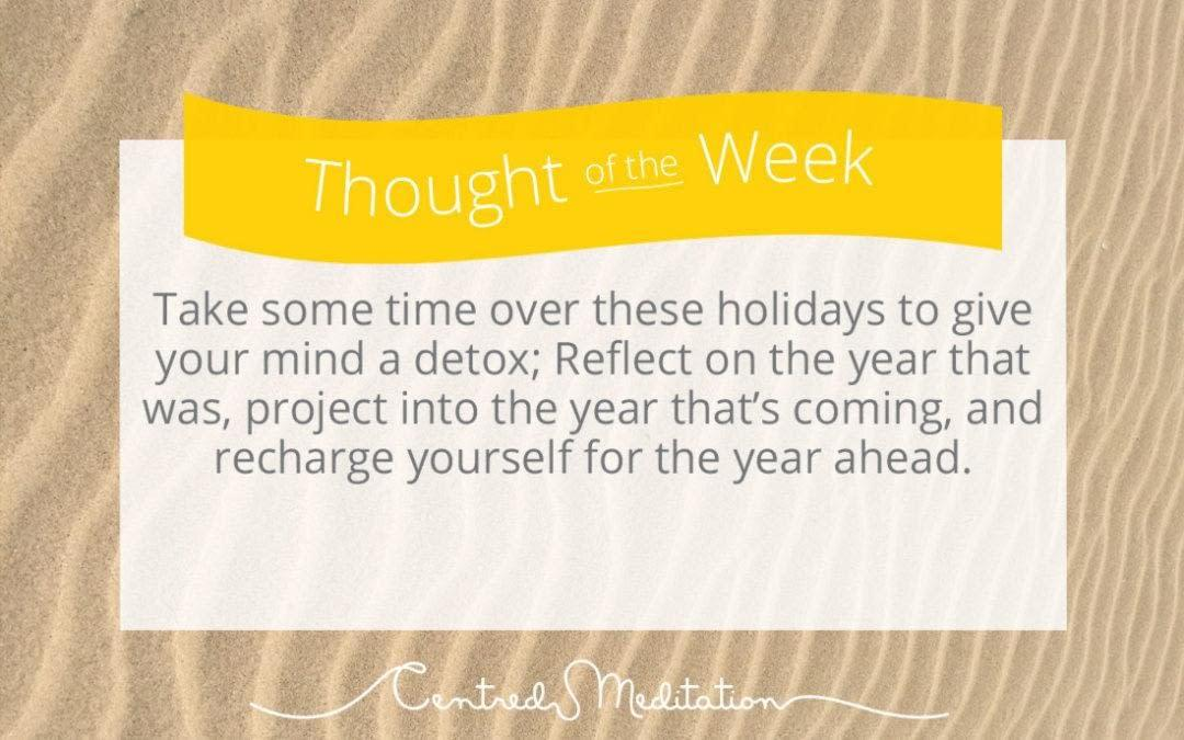 A Mind Detox for the New Year