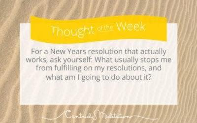 A New Years Resolution That Actually Works