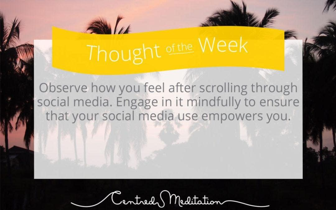 What social media is doing to your wellbeing